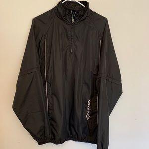 Easton baseball warmup jacket pullover size Large